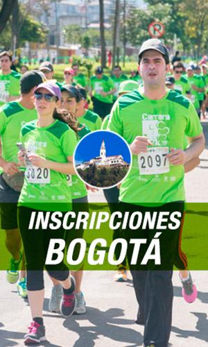 Inscripciones Carrera Verde 10k 2017 Colombia Bogotá