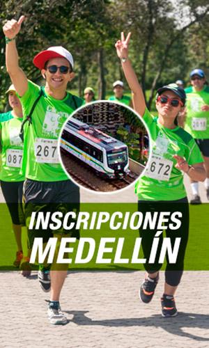 Inscripciones Carrera Verde 10k 2017 Colombia Medellín