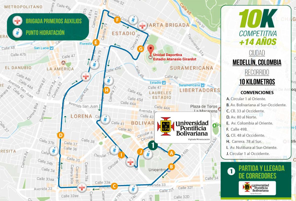 recorrido-carrera-verde-medellin-2019-10k-competitivo